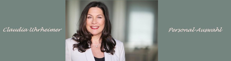 Personal-Auswahl: Claudia Uhrheimer von Potenzial findet mit Ihnen Talente, wählt sie aus und begeistert sie für Ihr Unternehmen!